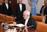 Le chef de la diplomatie iranienne, Mohammad Javad... (AFP) - image 2.0