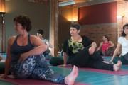 Vicky Villeneuve estime que le yoga hormonal a... (PHOTO JULIEN CHAMBERLAND, LA TRIBUNE) - image 2.0