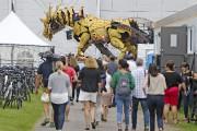 Les spectateurs qui viendront voir les deux machines... (Patrick Woodbury, Le Droit) - image 3.0