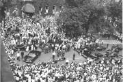 Le cortège présidentiel vient d'arriver à l'hôtel de... (Archives Le Soleil) - image 8.0