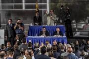 Estimant que les juges actuels ont été désignés... (AFP, Juan Barreto) - image 2.0