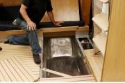 Le constructeur a même installé un bain sous... (Photo Le Quotidien, Yohann Gasse) - image 3.1