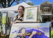 Parmi les artistes présents à Phares sur Champlain,... (Andréanne Lemire) - image 3.0