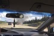 Une roulotte tirée par une camionnette a... (Photo courtoisie, Jimmy Tremblay) - image 2.0