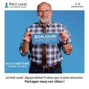 Photo officielle du chef du Parti Laval Michel... (MICHEL TROTTIER, CANDIDAT A LA MAIRIE) - image 1.0
