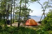 Scène de camping au pays des bélugas dans... (Photo Guillaume Roy, collaboration spéciale) - image 4.0