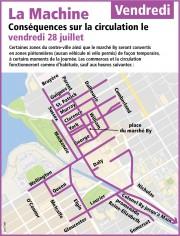 La circulation sera passablement difficile dans... (Courtoisie, Ville d'Ottawa) - image 7.0