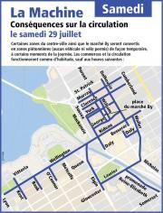 La circulation sera passablement difficile dans... (Courtoisie, Ville d'Ottawa) - image 11.0