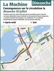 La circulation sera passablement difficile dans... (Courtoisie, Ville d'Ottawa) - image 15.0