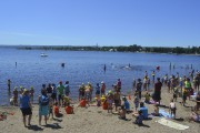 Un record de 225 jeunes nageurs ont participé... (Photo Le Quotidien, Louis Potvin) - image 2.0