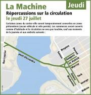 La circulation sera passablement difficile dans... (Courtoisie, Ville d'Ottawa) - image 4.0