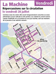 La circulation sera passablement difficile dans... (Courtoisie, Ville d'Ottawa) - image 6.0