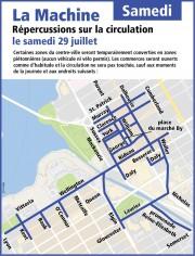 La circulation sera passablement difficile dans... (Courtoisie, Ville d'Ottawa) - image 10.0