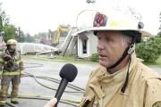 Serge Collins, directeur du service des incendies de... (Spectre Média, René Marquis) - image 1.0