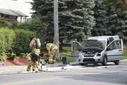 Un incendie a débuté sous le tableau de... (Catherine Trudeau, La Voix de l'Est) - image 2.0