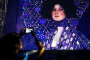 Un aperçu de l'oeuvre Portrait d'Emilie Floge... (AFP, Marco BERTORELLO) - image 2.0