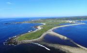 Une vue aérienne de forteresse de Louisbourg, construite... (La Presse canadienne, Parcs Canada, Rebecca Duggan) - image 1.0
