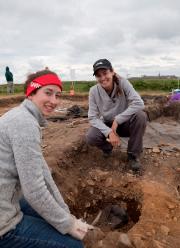 Une dizaine d'étudiants du département d'anthropologie de l'Université... (La Presse canadienne, Parcs Canada, Rebecca Duggan) - image 2.0