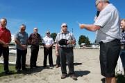 Un hommage a été rendu au maire Raymond... (Catherine Trudeau) - image 1.0