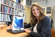 La biologiste Sonya Lévesque a complété la compilaiton... (Photo Le Quotidien, Michel Tremblay) - image 3.0