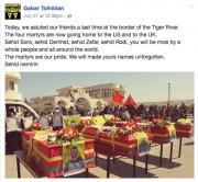 Le dernier statut Facebook de Gabar Tolhildan, publié... (FACEBOOK) - image 2.0