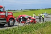 Des enquêteurs en collisions de la SQ se... (Photo Le Quotidien, Gimmy Desbiens) - image 2.0