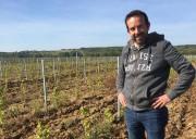 Le vigneron Matthieu Baudry faisant au printemps la... (PHOTO KARYNE DUPLESSIS PICHÉ, COLLABORATION SPÉCIALE) - image 1.0