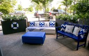 La terrasse propose un décor d'inspiration «Riviera chic».... (Photo fournie par Grey Goose) - image 3.0