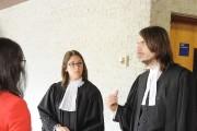 Les avocats de Marie-Pier Normand-Lejeune, Me Marie-Ève St-Cyr... (Le Progrès, Gimmy Desbiens) - image 1.0