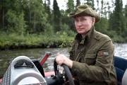 Le président russe Vladimir Poutine, qui aime à... (AP, Alexey NIKOLSKY) - image 1.0