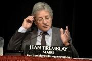Le maire Tremblay avoue qu'en entrant au travail... (Photo Le Quotidien, Jeannot Lévesque) - image 2.0