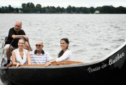 La première «gondole» de Venise-en-Québec a récemment été... (Photo Bernard Brault, La Presse) - image 1.0