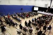Près de 200 personnes ont assisté à la... (Julie Catudal, La Voix de l'Est) - image 2.0
