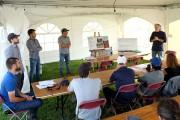 La Caravane de l'irrigation de l'IRDA, dirigée par... (Alain Dion, La Voix de l'Est) - image 1.0