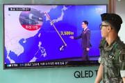 Selon l'agence nord-coréenne, les quatre missiles «voleront 17... (AFP) - image 1.0
