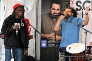 Papa T accompagne King Abid sur cette chanson... (Photo Le Quotidien, Rocket Lavoie) - image 3.1