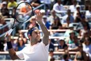 Roger Federer affrontait hier le Canadien Peter Polansky,... (Photo Olivier PontBriand, La Presse) - image 1.0