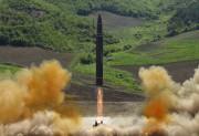 En juillet, la Corée du Nord a mené... (AP) - image 5.0