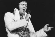 Elvis en mai 1977, quelques mois avant sa... (Archives AP) - image 3.0