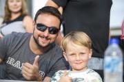 Andrew Ranger et son fils Jacob étaient présents... (Olivier Croteau) - image 2.0