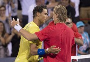 Rafael Nadal et Denis Shapovalov... (Photo Paul Chiasson, La Presse canadienne) - image 1.0