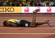 Bolt a subi un claquage.... (Photo Reuters) - image 1.0