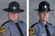 Berke M.M. Bates et Jay Cullen sont décédés... (Police de l'État de Virginie, via AP) - image 2.0