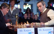 Partie d'échecs entre Anatoly Karpov etGary Kasparov, en... - image 2.0