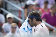 Roger Federer réagit après avoir perdu un point.... (PHOTO OLIVIER JEAN, LA PRESSE) - image 3.0
