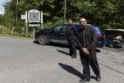 Des agents de sécurité avaient bloqué la circulation... (Collaboration spéciale, Ulysse Lemerise, La Presse) - image 1.0