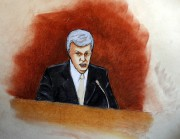 David Mueller dans un croquis de coeur.... (AP) - image 2.0
