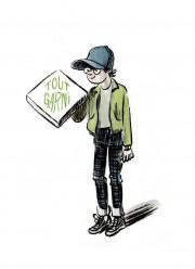 Le personnage d'Arthur, imaginé par le dessinateur Cyril... (Image Cyril Doisneau, fournie par La Pastèque) - image 2.0
