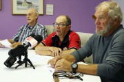 Même s'ils n'avaient pas convié les médias, André... (Photo Le Quotidien, Yohann Gasse) - image 2.0