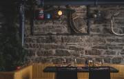 De la vieille pierre, des raquettes en babiche... (Photo tirée du site web du restaurant) - image 1.0